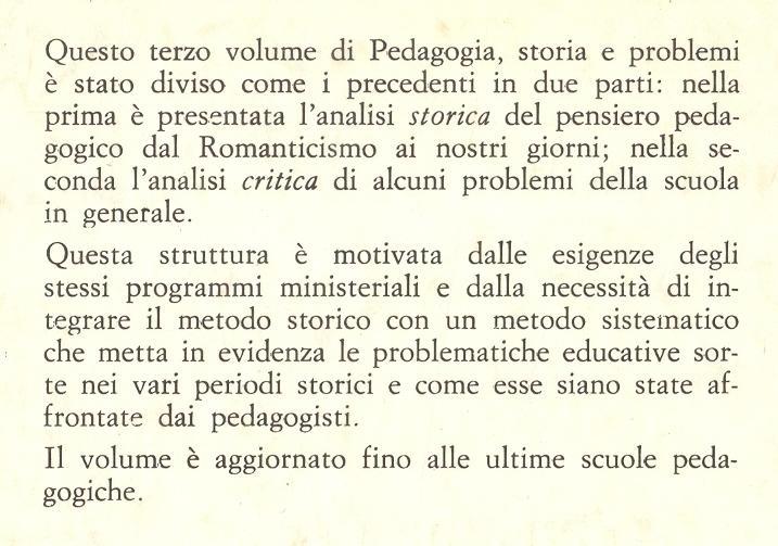 Pedagogia. 3.: Dal Romanticismo ai nostri giorni.