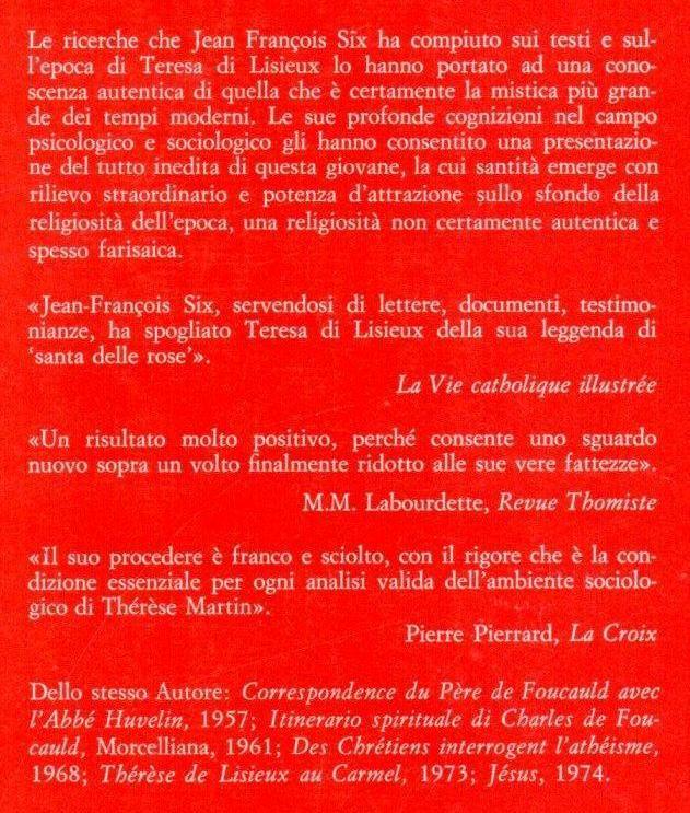 Vita di Teresa di Lisieux.