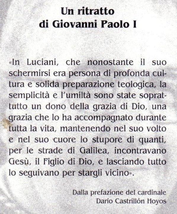 Papa Luciani.