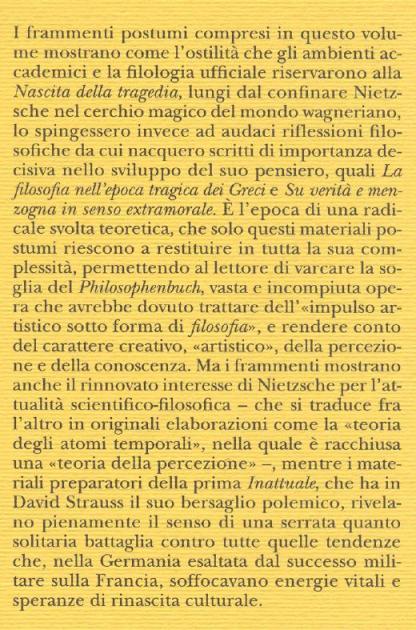 Frammenti postumi. 3: Estate 1872-autunno 1873.