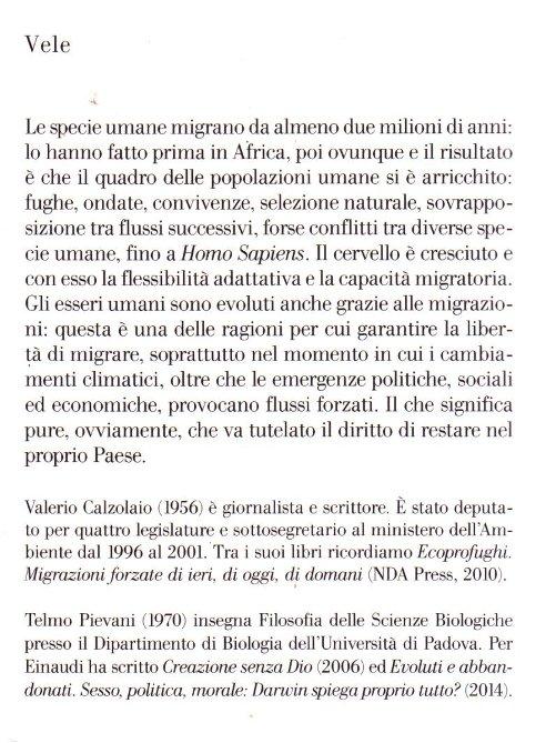 Libertà di migrare.