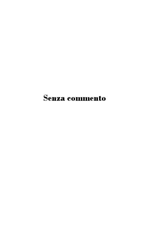 Profilo di Antonio Cesari e ricordi del soggiorno campestre.