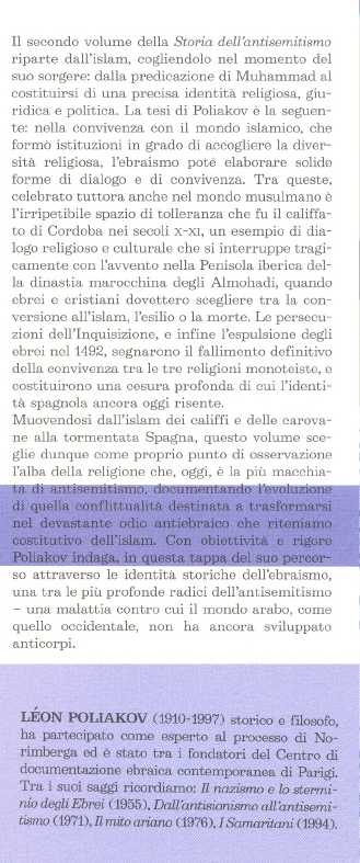 Storia dell'antisemitismo. 2: Da Maometto ai marrani.