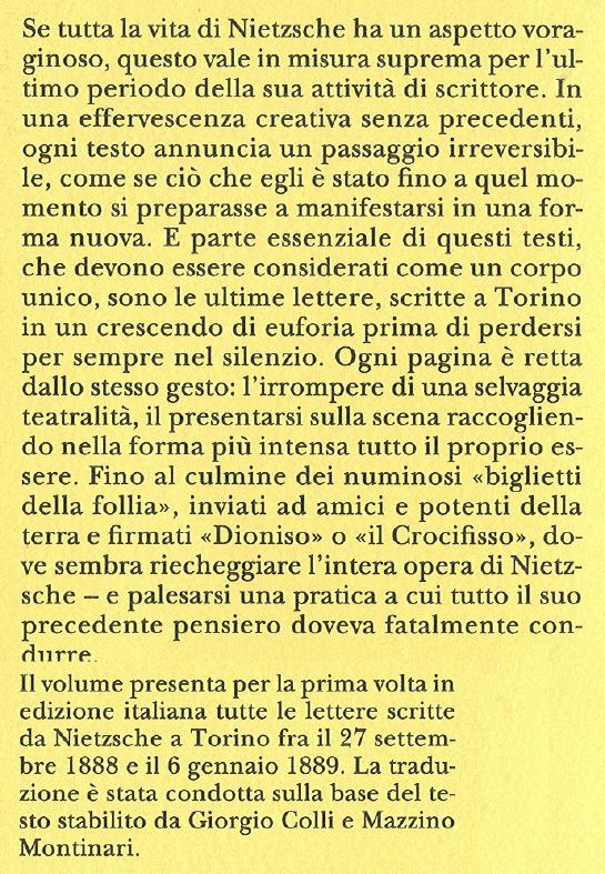Lettere da Torino.