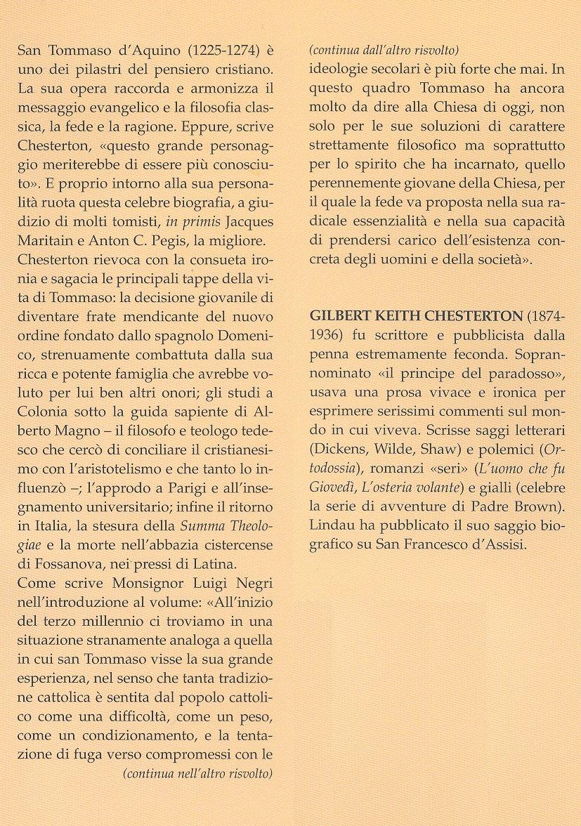 San Tommaso d'Aquino.