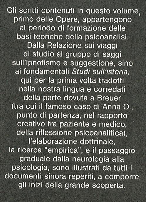 Opere di Sigmund Freud. 1: Opere 1886-1895.