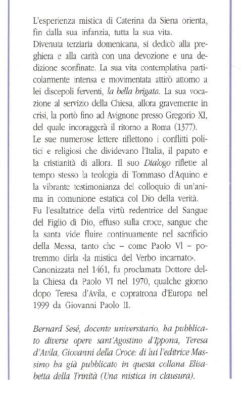 Caterina da Siena.