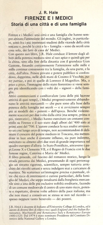 Firenze e i Medici.