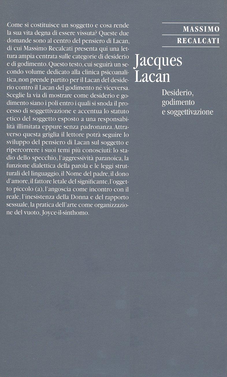 Jacques Lacan. Vol. 1.