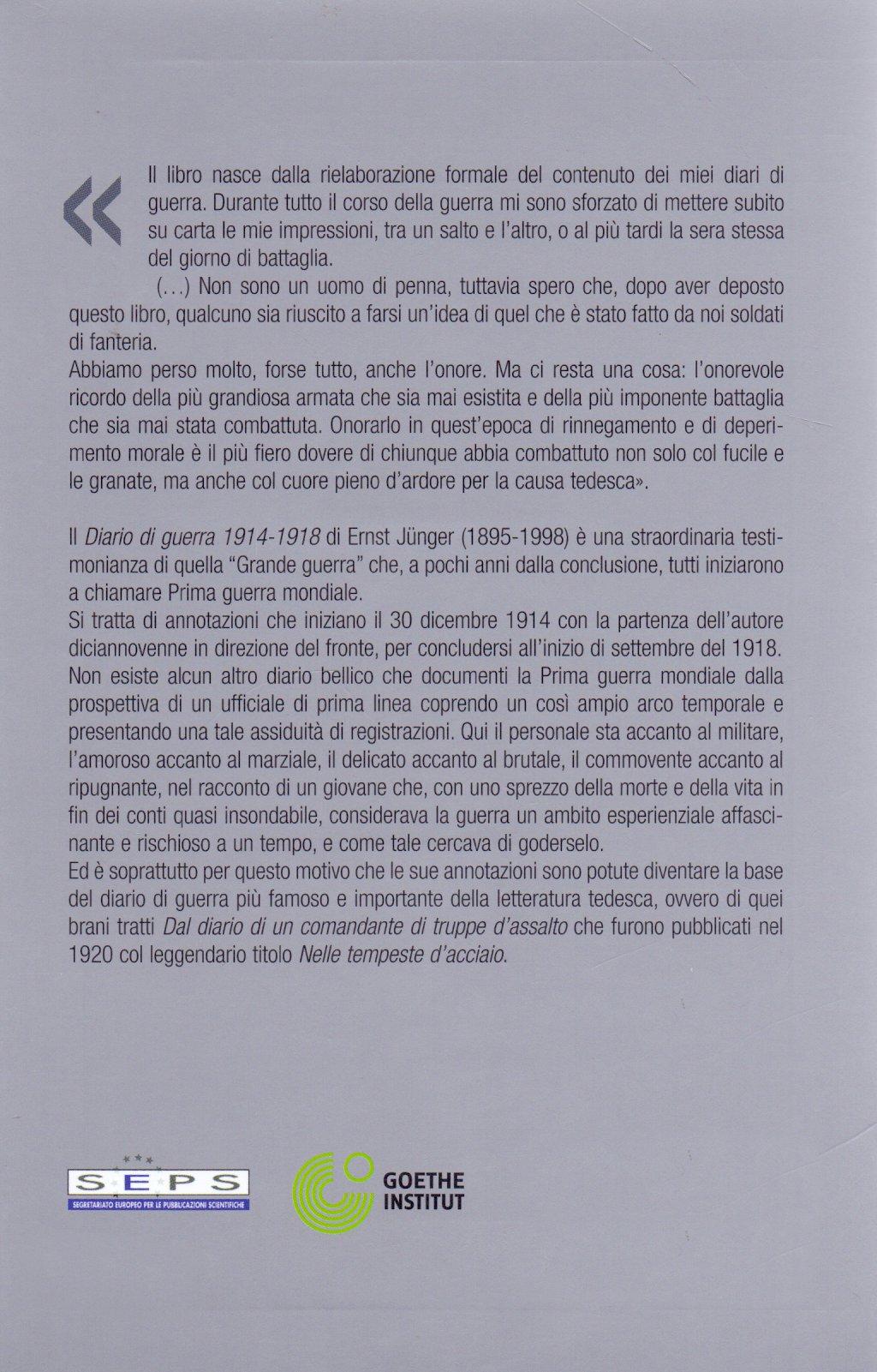 Diario di guerra.