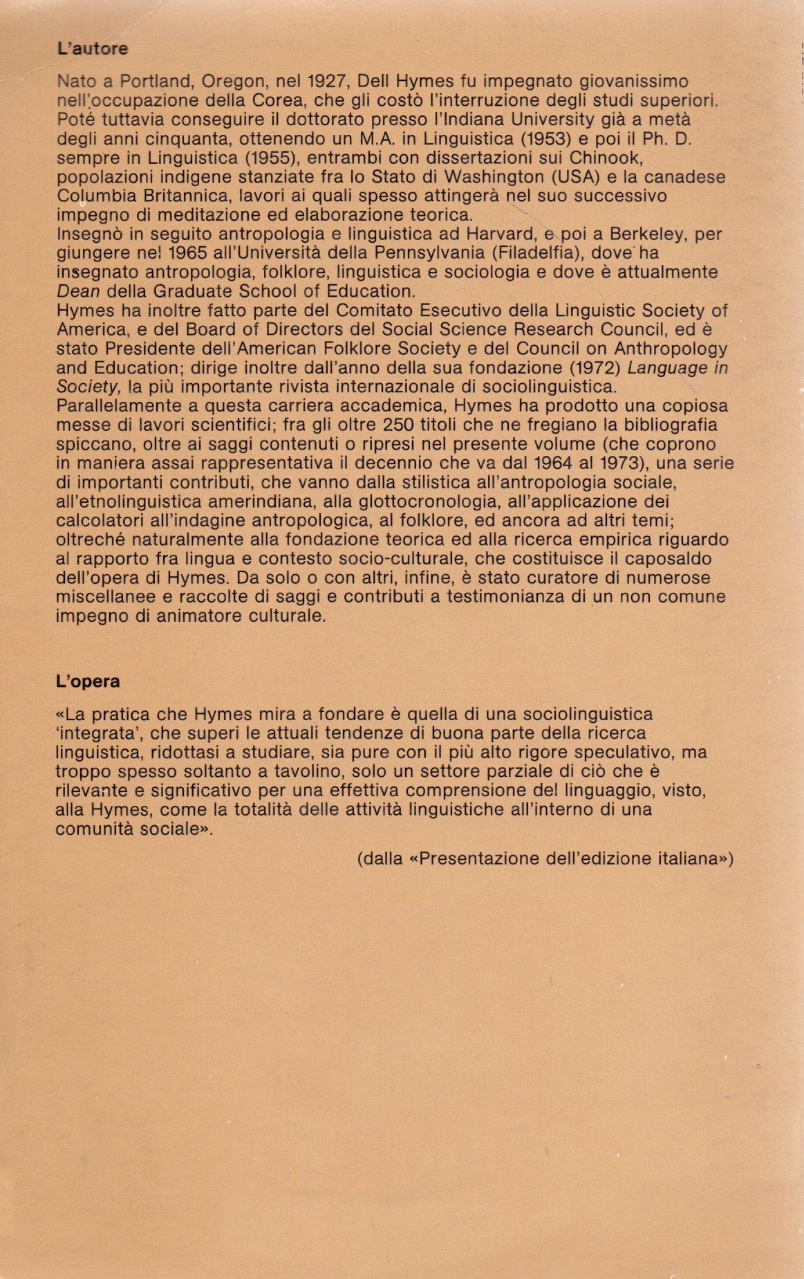Fondamenti di sociolinguistica.