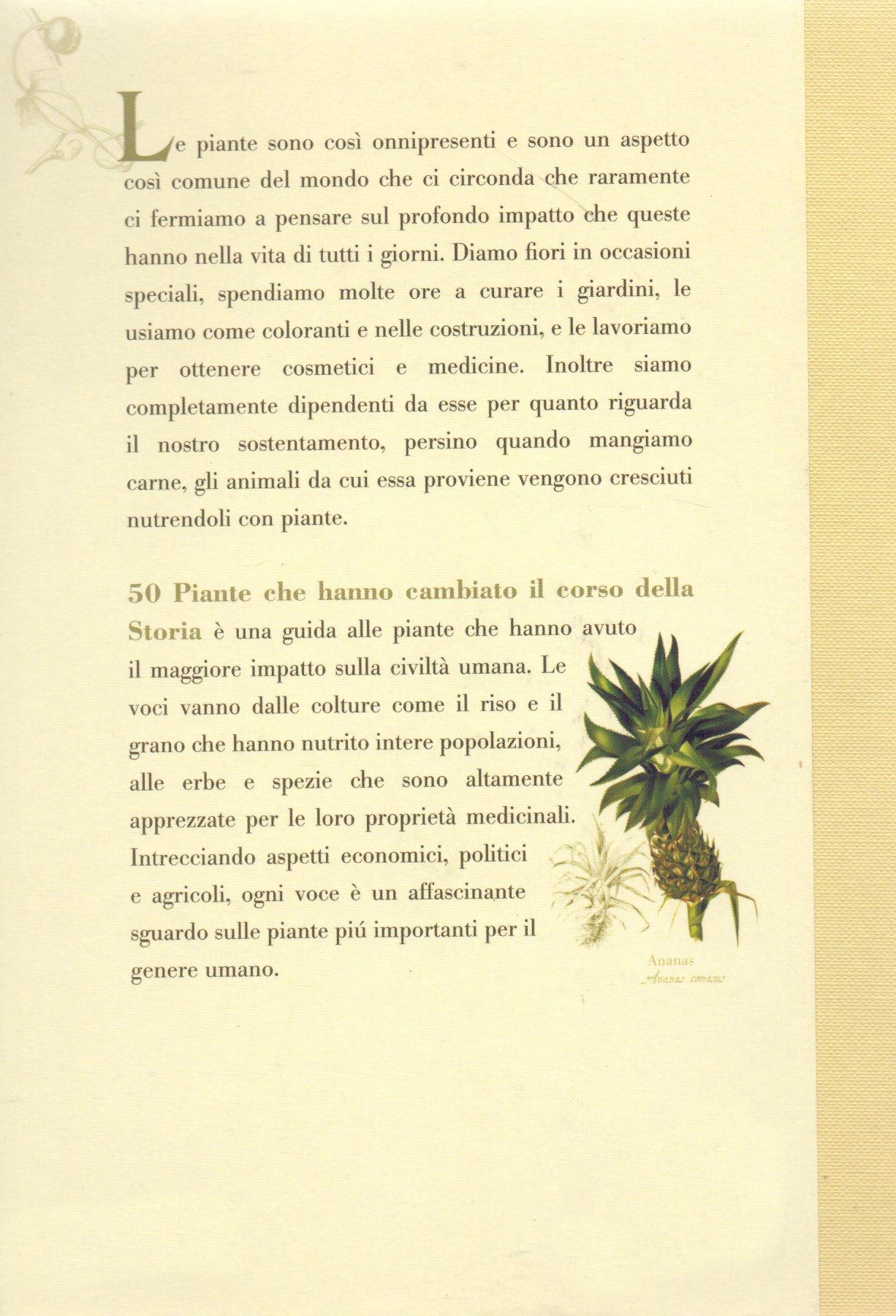 50 piante che hanno cambiato il corso della storia.