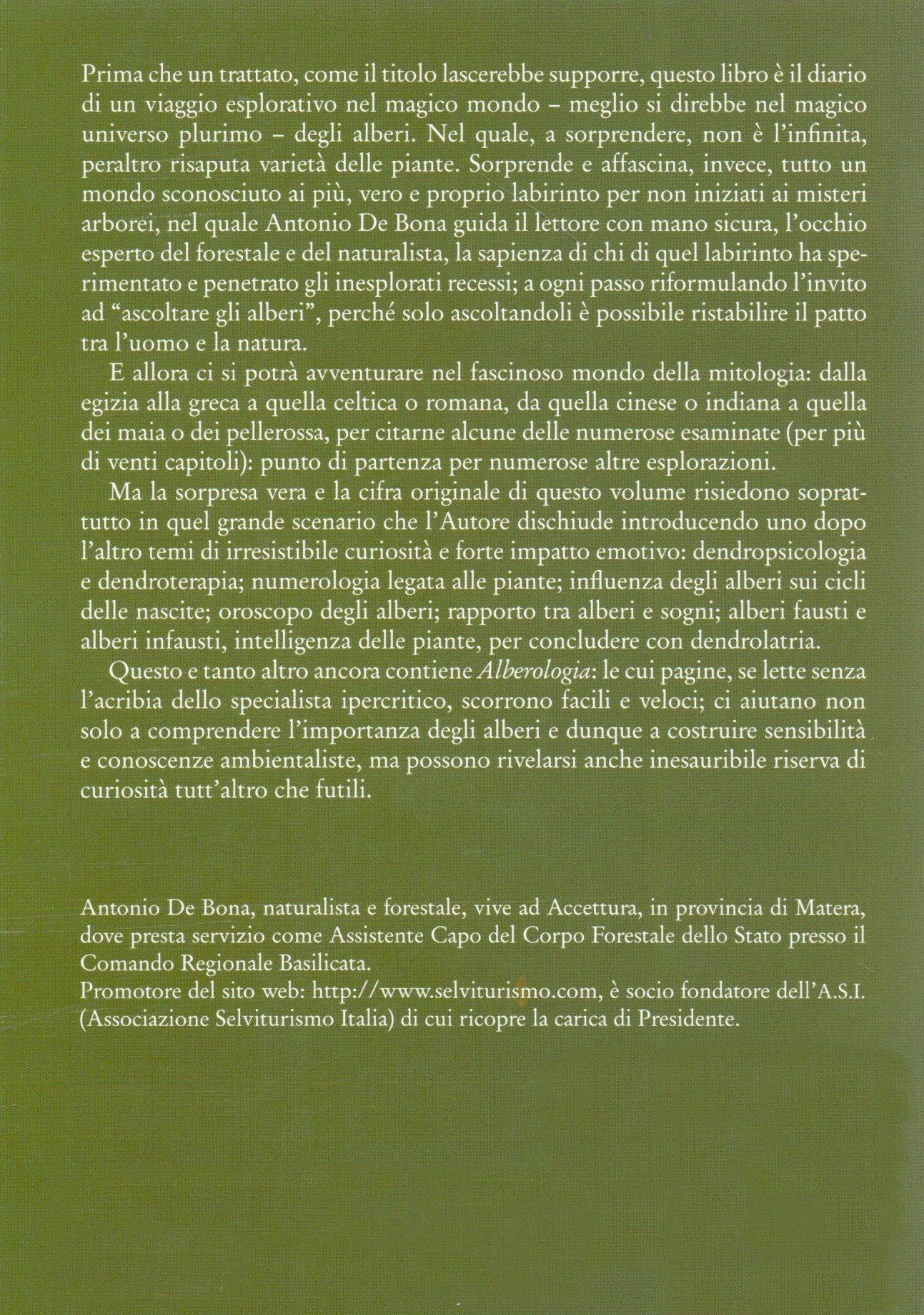 Alberologia.