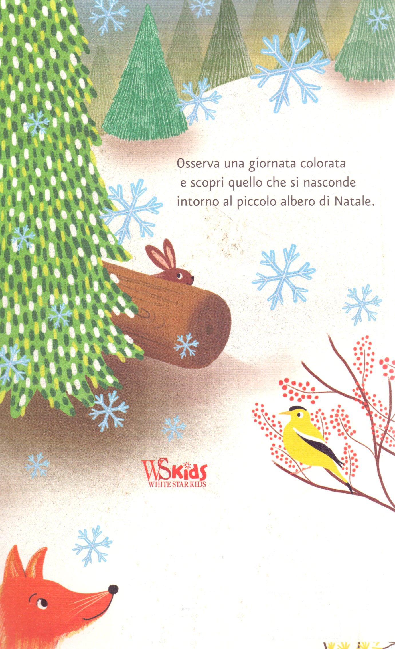 Storia di un piccolo albero di Natale.