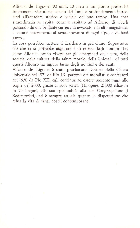 Alfonso De Liguori.