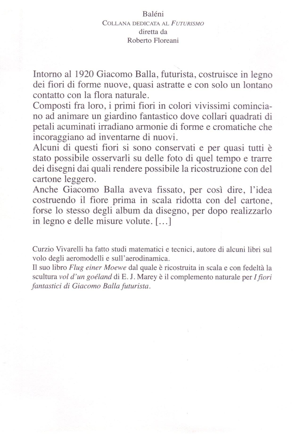 I fiori fantastici di Giacomo Balla futurista.