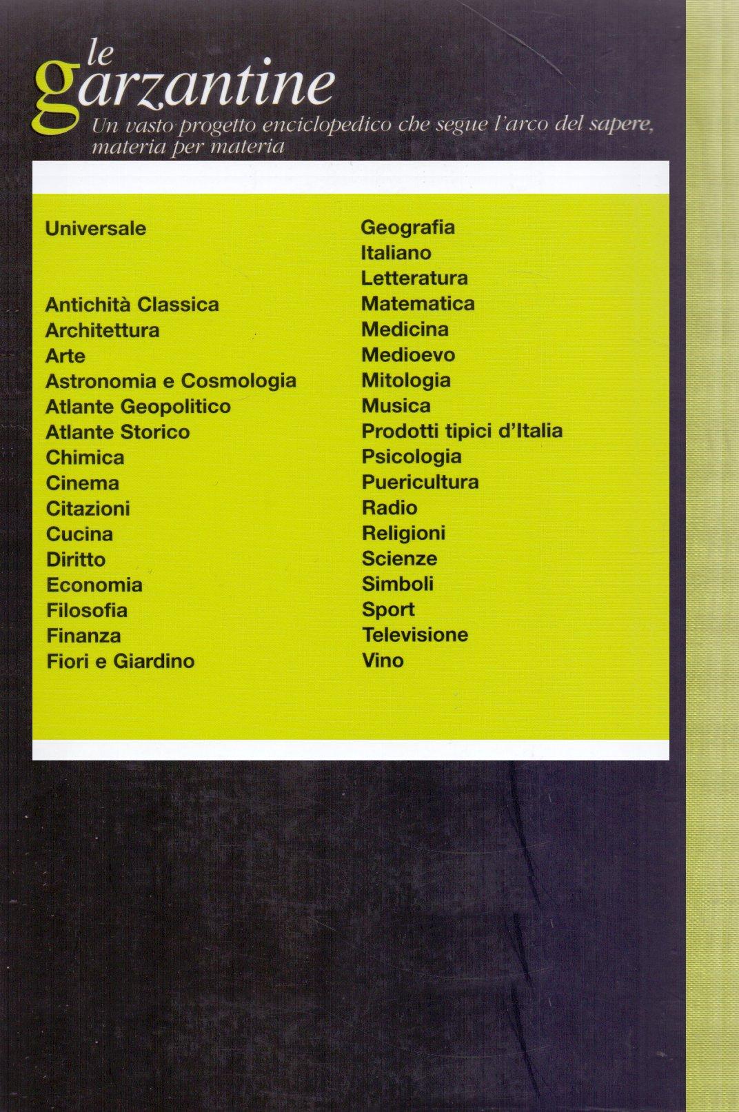 Enciclopedia dei fiori e del giardino.