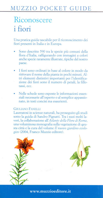 Riconoscere i fiori d'Italia e d'Europa.