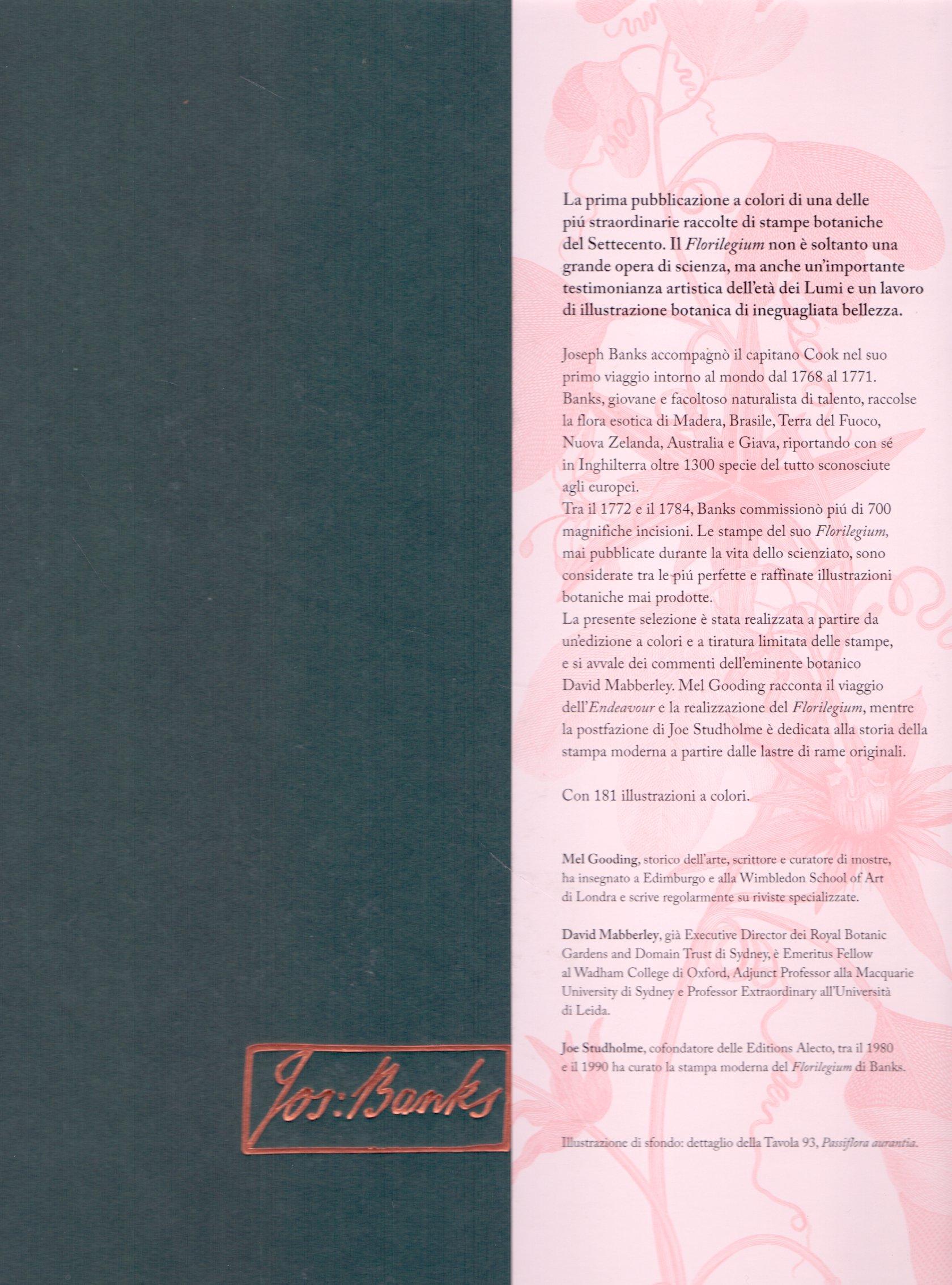 Joseph Banks florilegium.