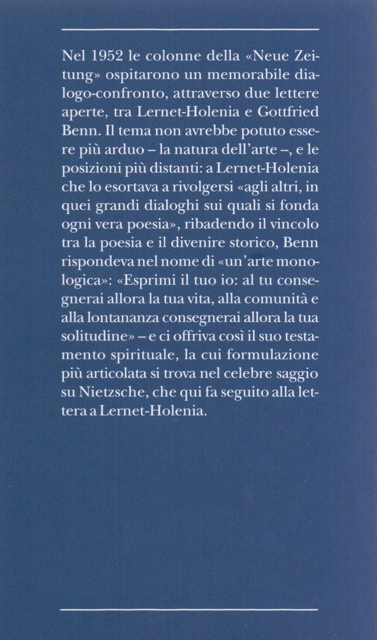 Arte monologica?.