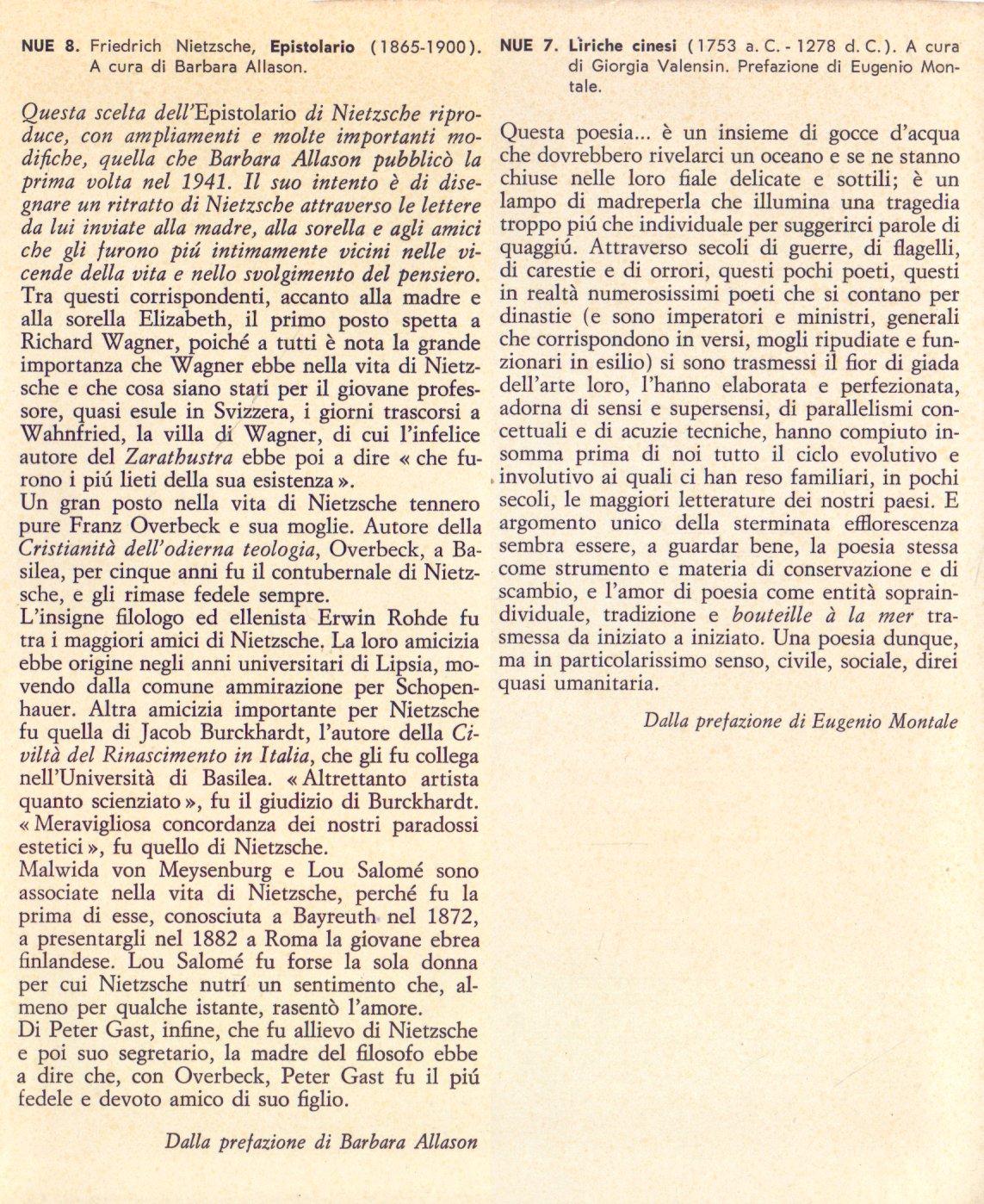 Epistolario 1865-1900.